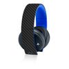 Playstation Gold Wireless Headset Skins - Carbon Fiber - iCarbons - 2