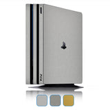 Playstation 4 Pro Skins - Brushed Metal - iCarbons - 1