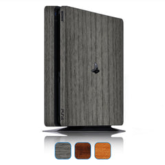 Playstation 4 Slim Skins - Wood Grain