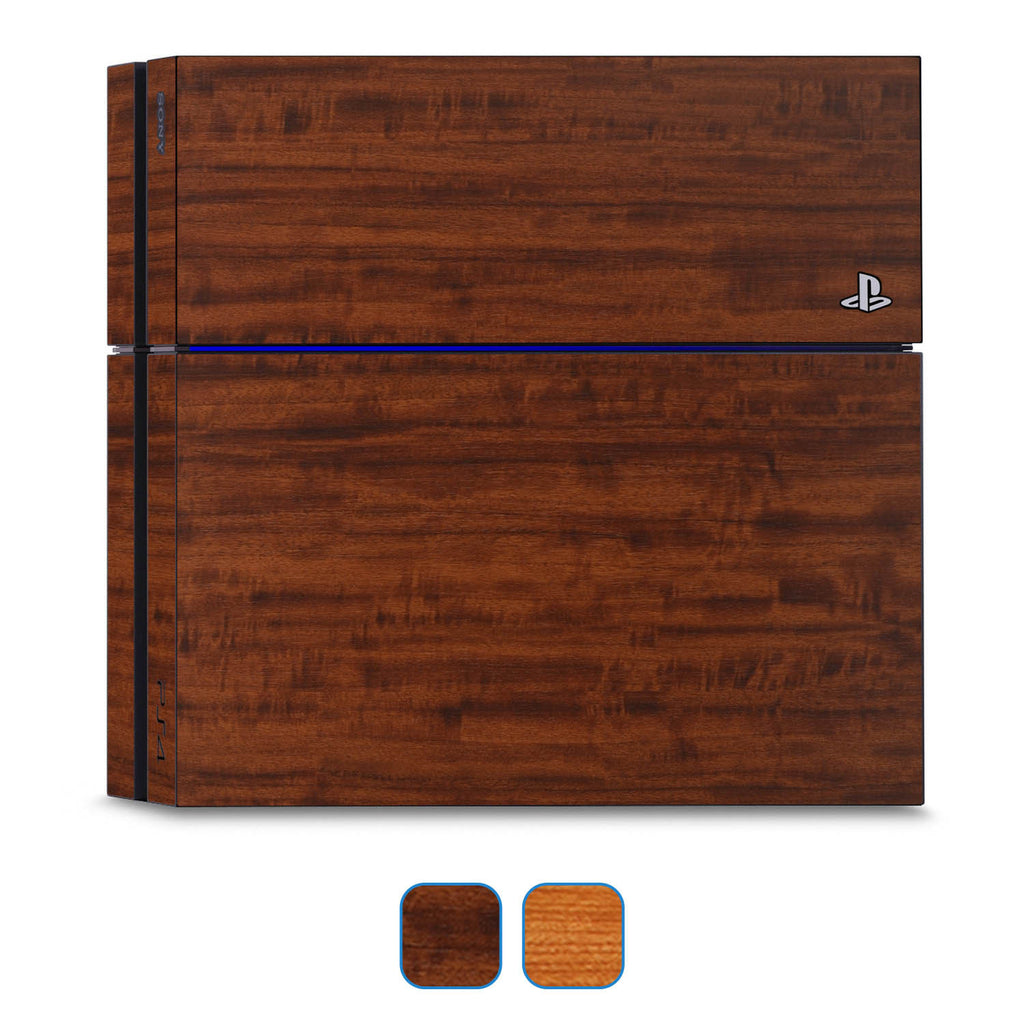 Playstation 4 Skins - Wood Grain - iCarbons - 1