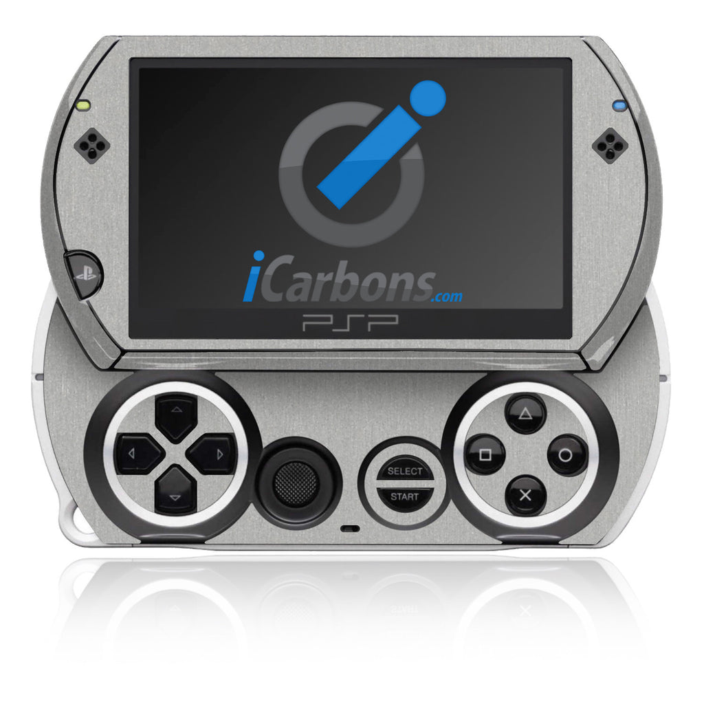 PSP Go - Brushed Aluminum - iCarbons