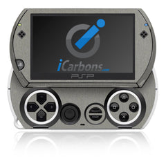 PSP Go - Brushed Titanium
