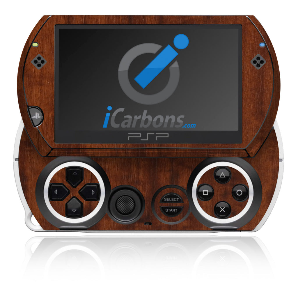PSP Go - Dark Wood - iCarbons - 1