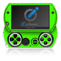 PSP Go - Green Carbon Fiber
