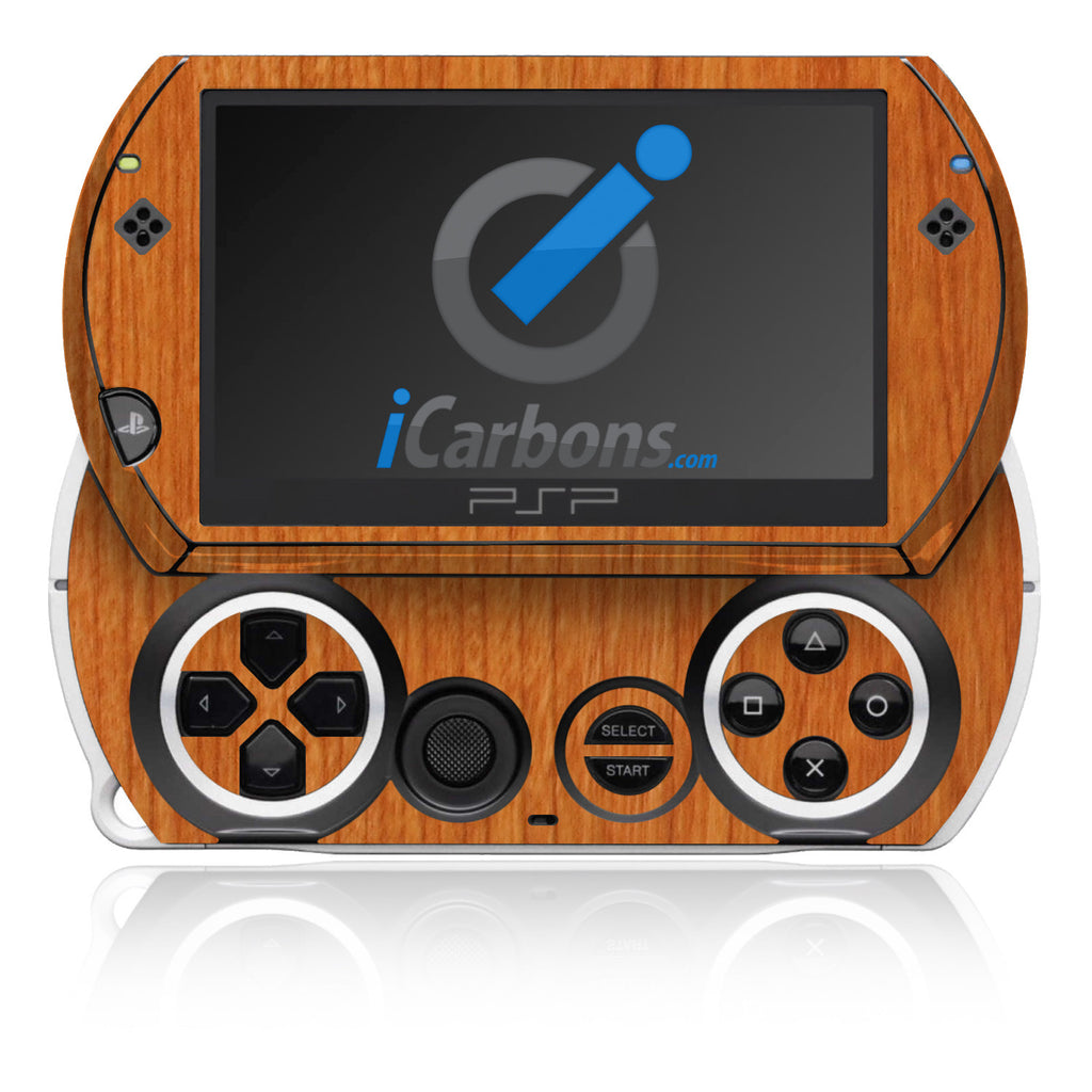 PSP Go - Light Wood - iCarbons