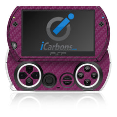 PSP Go - Purple Carbon Fiber