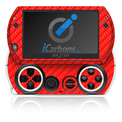 PSP Go - Red Carbon Fiber