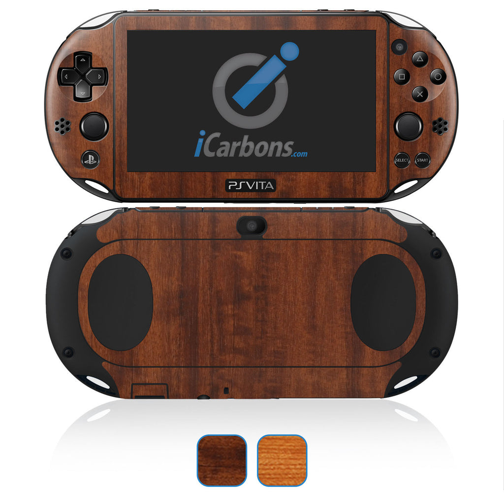 PS Vita SLIM (2000) Skins - Wood Grain - iCarbons - 1