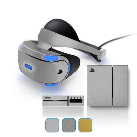 Playstation VR Skins - Brushed Metal - iCarbons - 1