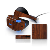Playstation VR Skins - Wood Grain - iCarbons - 2