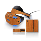 Playstation VR Skins - Wood Grain - iCarbons - 3