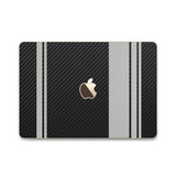 MacBook Rally Skin - Stripes Only - iCarbons - 10