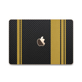 MacBook Rally Skin - Stripes Only - iCarbons - 12