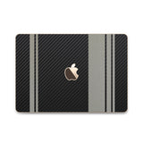 MacBook Rally Skin - Stripes Only - iCarbons - 11