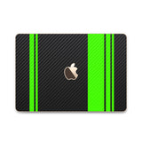 MacBook Rally Skin - Stripes Only - iCarbons - 1