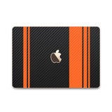 MacBook Rally Skin - Stripes Only - iCarbons - 6