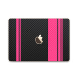 MacBook Rally Skin - Stripes Only - iCarbons - 3