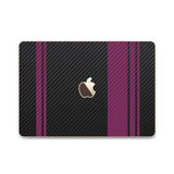 MacBook Rally Skin - Stripes Only - iCarbons - 5