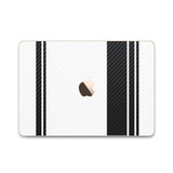 MacBook Rally Skin - Stripes Only - iCarbons - 2