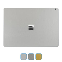 Microsoft Surface Book Skins - Brushed Metal