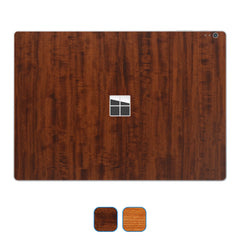 Microsoft Surface Book Skins - Wood Grain