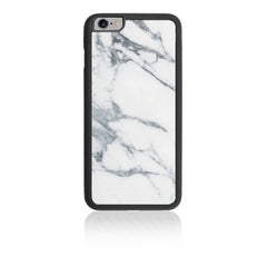 iPhone HD Custom Case - White Marble