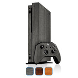 Xbox One X Skin - Wood Grain