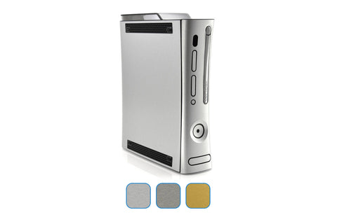 Xbox 360 Skins - Brushed Metal - iCarbons - 1