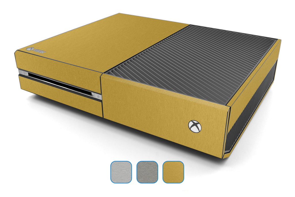 Xbox One Skin - Brushed Metal - iCarbons - 1