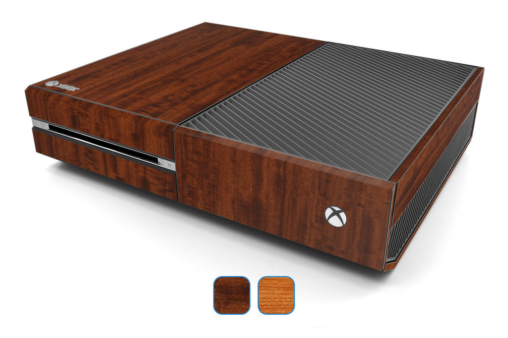 Xbox One Skins - Wood Grain - iCarbons - 1