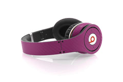 Beats Studio Skin - Purple Carbon Fiber