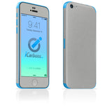 iPhone 5C Skins - Brushed Metal - iCarbons - 3