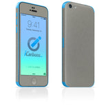 iPhone 5C Skins - Brushed Metal - iCarbons - 7
