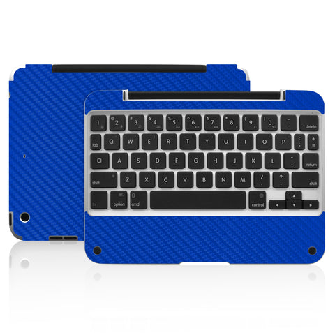 Clamcase Pro Mini Skin - Blue Carbon Fiber - iCarbons