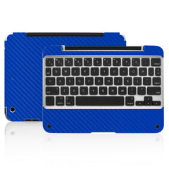 Clamcase Pro Mini Skin - Blue Carbon Fiber