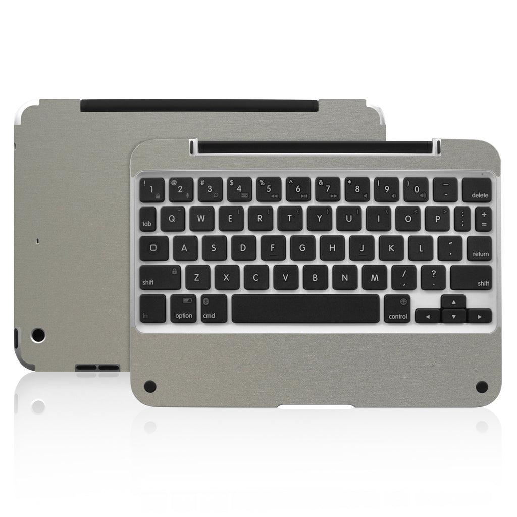 Clamcase Pro Mini Skin - Brushed Titanium - iCarbons