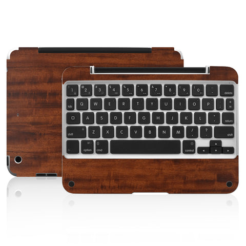 Clamcase Pro Mini Skin - Dark Wood - iCarbons