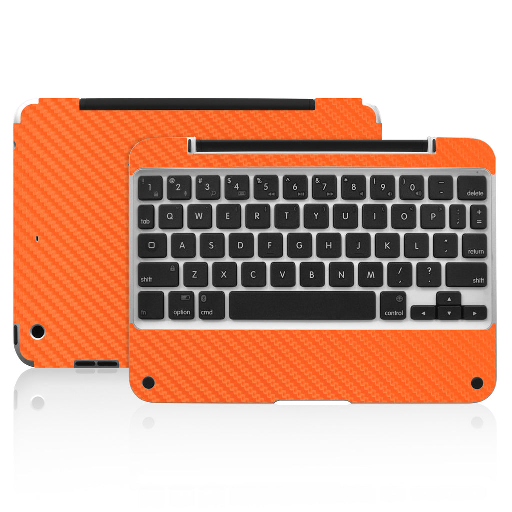 Clamcase Pro Mini Skin - Orange Carbon Fiber - iCarbons