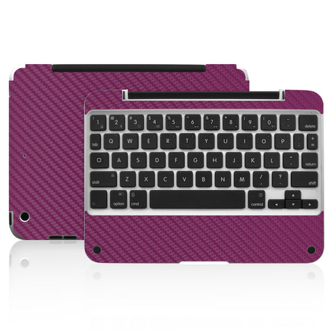 Clamcase Pro Mini Skin - Purple Carbon Fiber - iCarbons