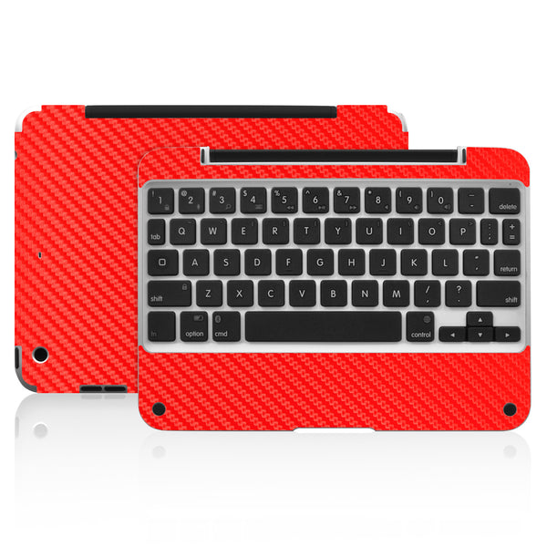 Clamcase Pro Mini Skin - Red Carbon Fiber - iCarbons