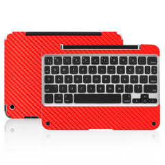 Clamcase Pro Mini Skin - Red Carbon Fiber