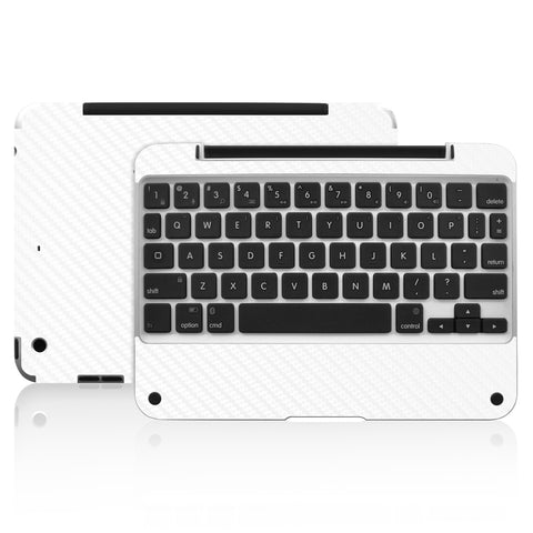 Clamcase Pro Mini Skin - White Carbon Fiber - iCarbons