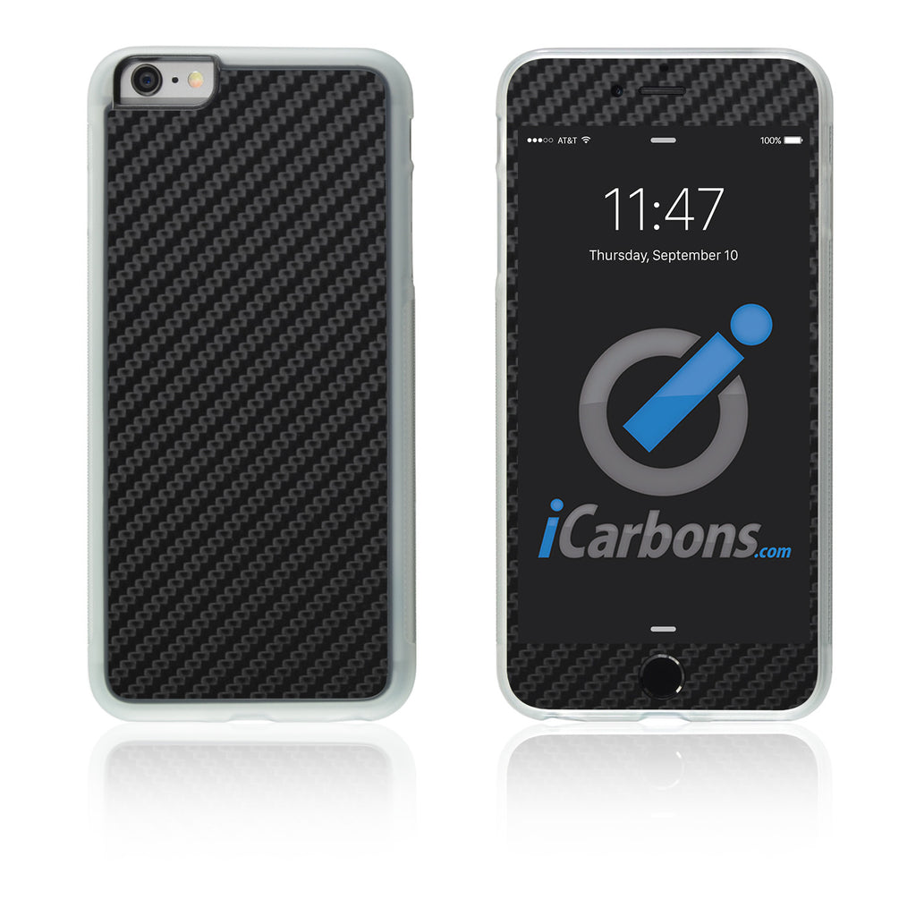 iPhone 6 Plus / 6S Plus HD Skin Case - Carbon Fiber - iCarbons - 1