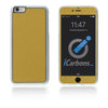 iPhone 6 Plus / 6S Plus HD Skin Case - Brushed Metal - iCarbons - 5