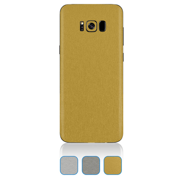 Samsung Galaxy S8 Plus Skins - Brushed Metal