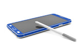Samsung Galaxy Note 3 - Blue Carbon Fiber - iCarbons - 7