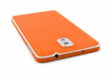 Samsung Galaxy Note 3 - Orange Carbon Fiber - iCarbons - 5