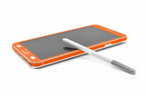 Samsung Galaxy Note 3 - Orange Carbon Fiber - iCarbons - 6