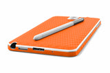 Samsung Galaxy Note 3 - Orange Carbon Fiber - iCarbons - 7
