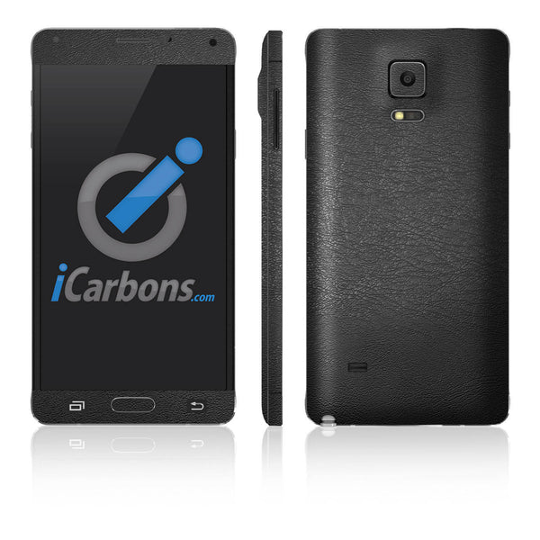 Samsung Galaxy Note 4 Skins - Leather - iCarbons - 2